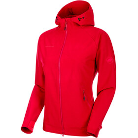 Mammut Macun SO Hooded Jacket Women ruby